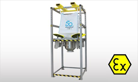 High Flow Rate FIBC Dischargers - SBB-HFF
