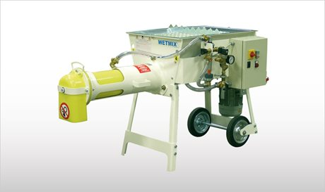 WETMIX BAGS - Mortar Mixers with Bag Feeding Hopper